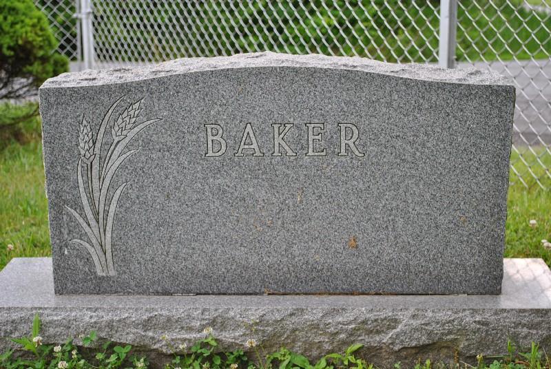 Baker, Gertude HS2, Baker, Gertude Headstone 2