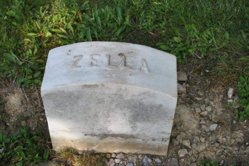 Abbey, Zella Headstone 1, Abbey, Zella HS1