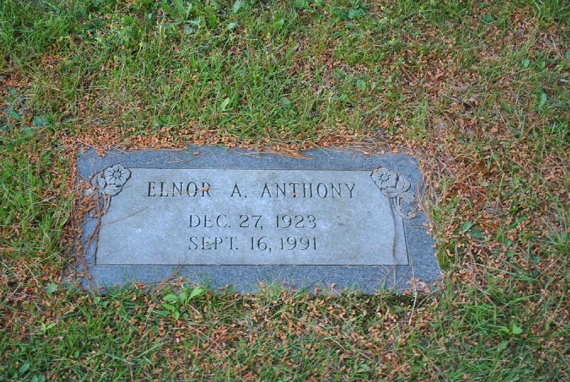 Anthony, Elnor Headstone 1, Anthony, Elnor Headstone 1