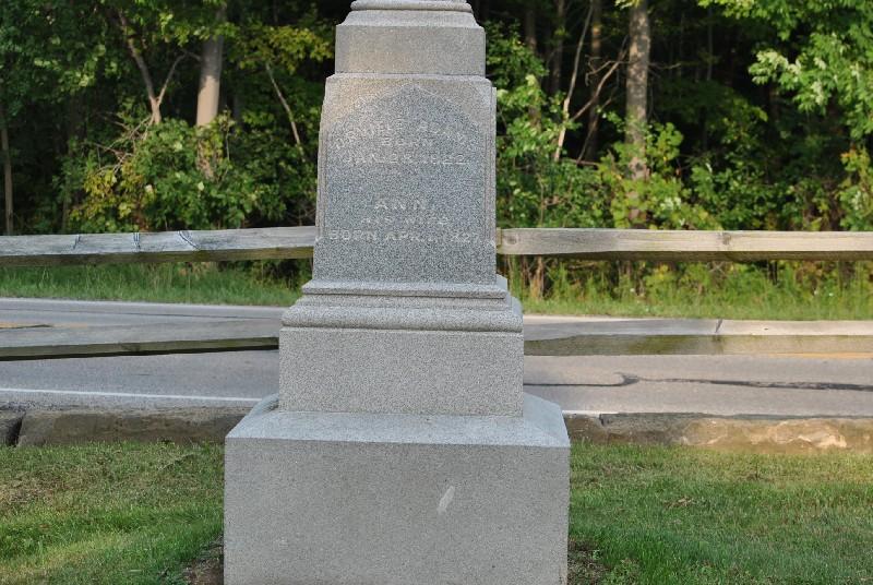 Adams, Ann Headstone 1, Adams, Ann Headstone 1