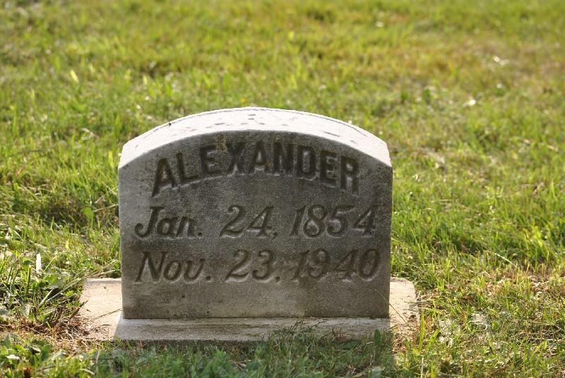 Alexander, Mary HS, Alexander, Mary HS