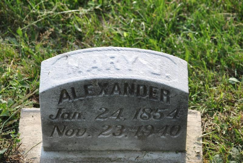 Alexander, Mary HS1, Alexander, Mary HS1